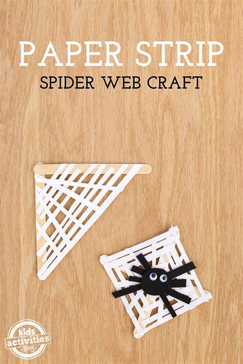 how to make a spider web craft for paper spider web craft