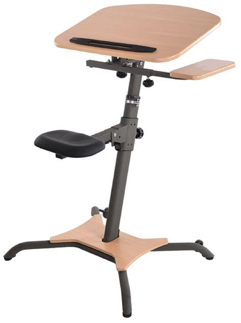 adjustable stand up computer desk stamina wirk linea adjustable stand up workstation