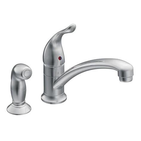 low arc kitchen faucet shop moen chateau chrome 1 handle low arc kitchen faucet