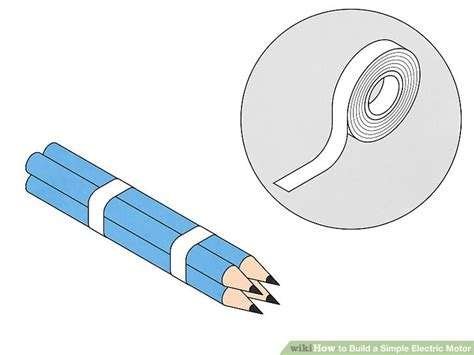 An Electric Motor by How To Build A Simple Electric Motor 10 Steps With Pictures