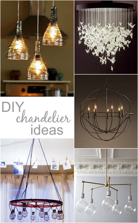 diy chandelier ideas so we acquired a table and now i want a diy chandelier