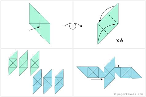 how to make origami cube step by step how to make a modular origami cube box
