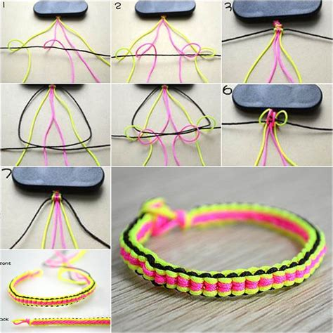 how to make jewelry bracelets how to make diy 6 string braided friendship bracelet