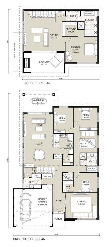 two storey house plans perth best 25 two storey house plans ideas on 2