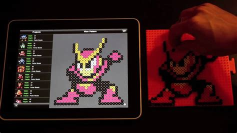 bead it hd perler bead sprite using bead it hd on