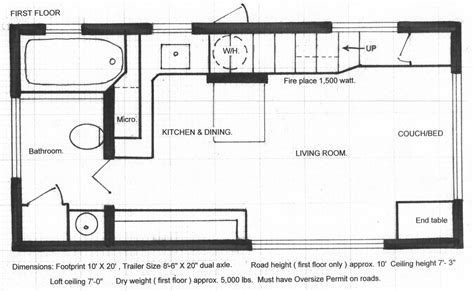 small luxury floor plans floor plans tiny house