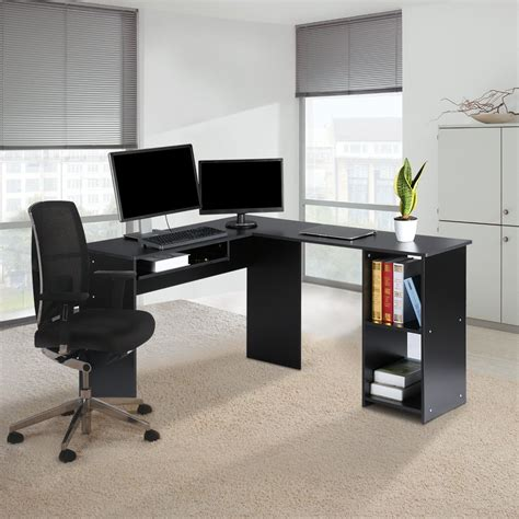 executive computer desk for home l shape computer desk workstation corner executive laptop