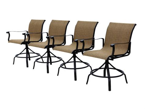 allen roth patio chairs patio bar table allen roth safford swivel bar chairs