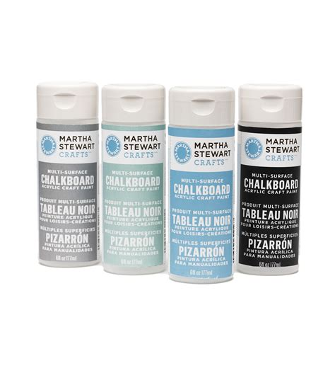chalk paint joann martha stewart chalkboard paint 6 ounces jo