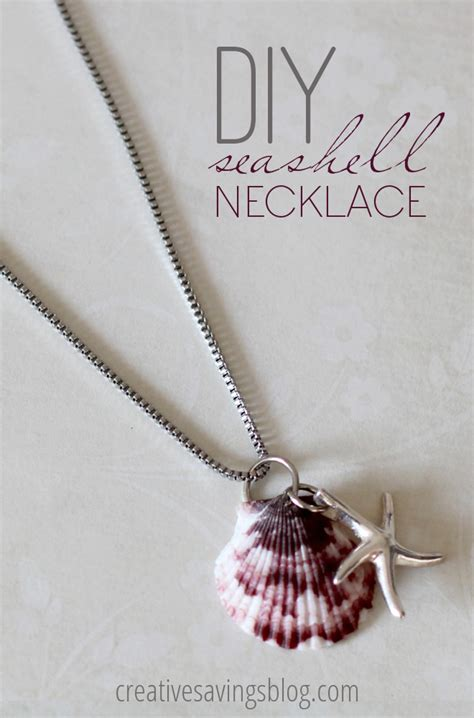 how to make jewelry from seashells diy seashell necklace make your own seashell jewelry