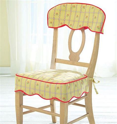 dining room chair cover patterns sewing pattern mccall s m4405 dining room kitchen chair