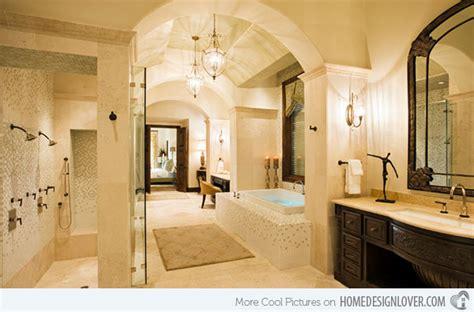 designer master bathrooms 15 beautiful mediterranean bathroom designs home design
