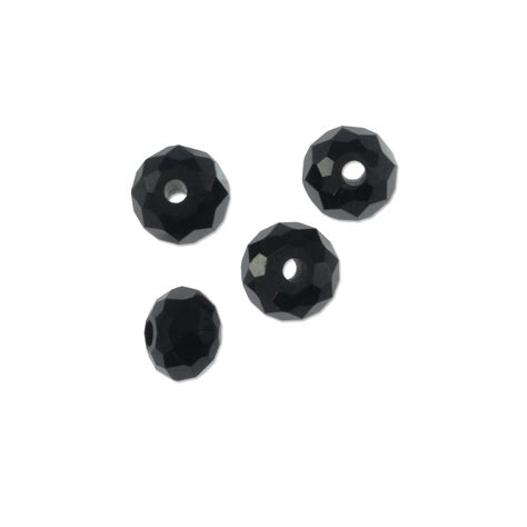 where to buy beading supplies black spinel 5x3 5mm faceted rondelle gemstone