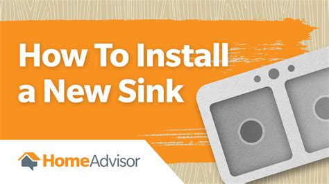 how to install a new kitchen sink how to install a new kitchen or bathroom sink homeadvisor