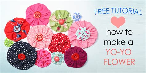 how to make fabric how to make fabric yo yos diy fabric flowers free