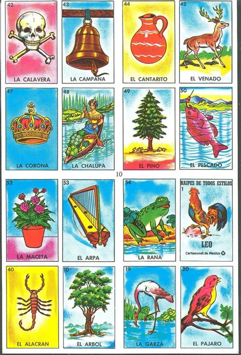 how to make loteria cards via flores images frompo