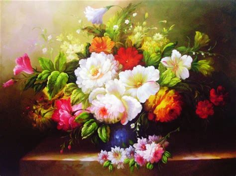 flower painting pictures flowers paintings painting