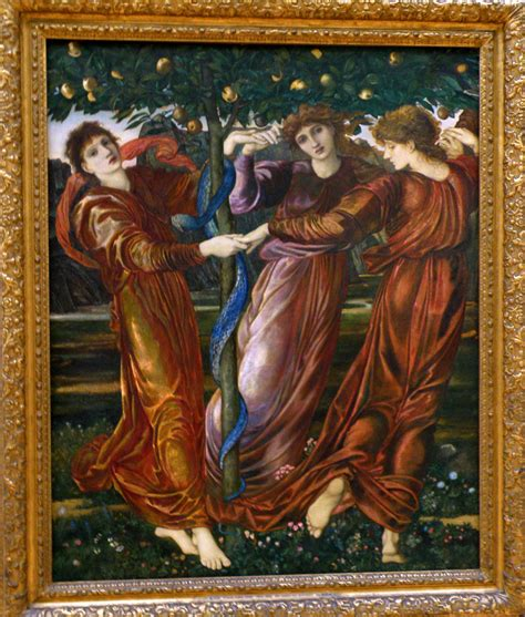Der Garten Der Hesperiden by Edward Burne Jones Gelarie