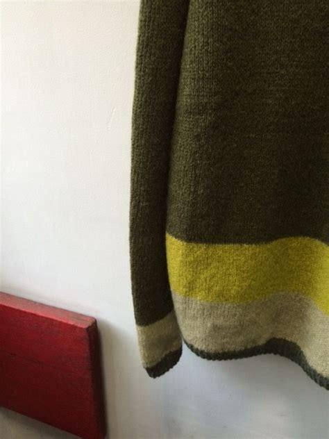 ohio knitting mills ohio knitting mills crew neck sweater quot mocozi quot オハイオ