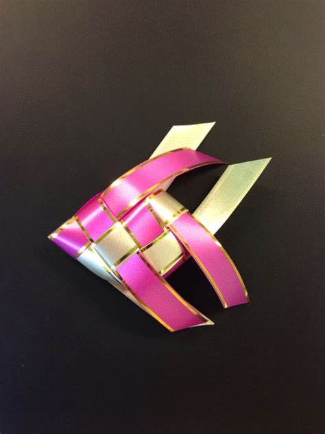 how to make a ribbon origami how to make a fish w ribbon origami arts and crafts