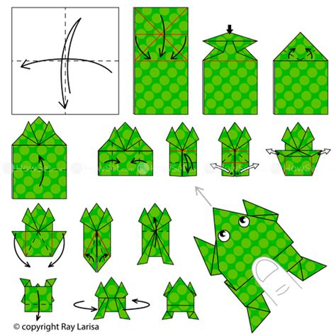 how to make an easy origami frog frog animated origami how to make origami