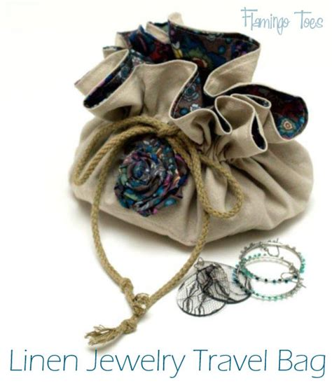 how to make jewelry bags quilt story tutorial travel jewelry bag