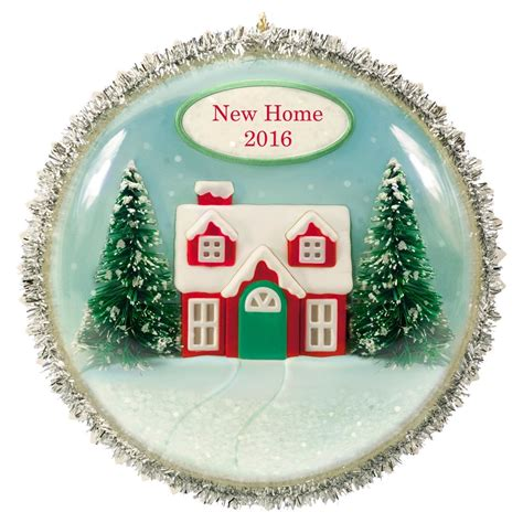 home ornaments 2016 new home hallmark keepsake ornament hooked on