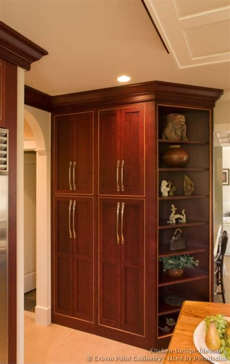 Cherry Kitchen Cabinets With Granite Countertops pictures of kitchens traditional dark wood cherry