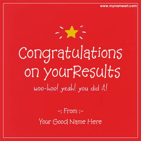 how to make a congratulations card congratulations on success with quotes and name wishes