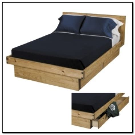 bed platform with drawers size platform bed with drawers beds home design