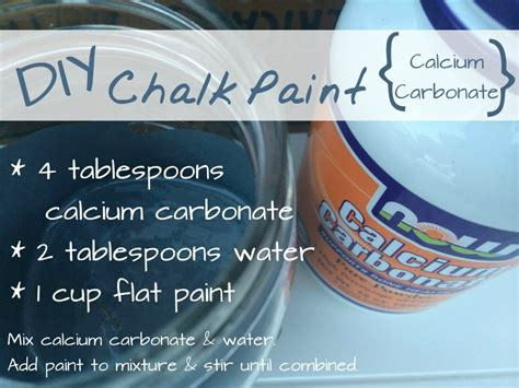diy chalk paint using calcium carbonate the best diy chalk paint recipe refresh living