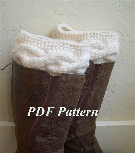 cable knit boot cuffs pattern cable knit boot cuffs pattern boot cuffs tutorial easy knit