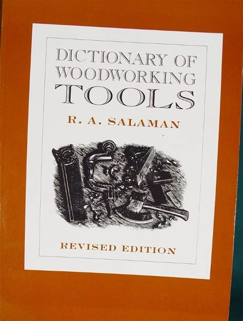 woodwork dictionary books on tools