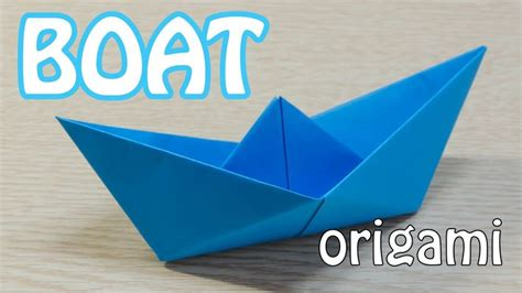 origami fishing boat how to make a paper boat origami tutorial how do i do
