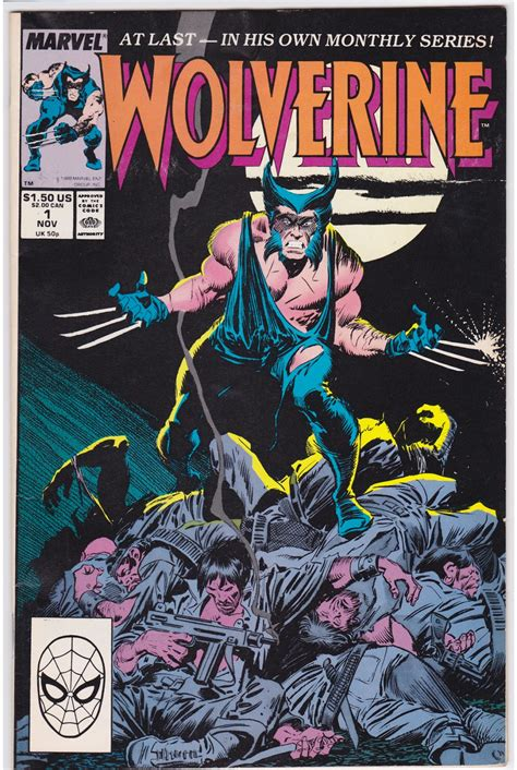 pictures of comic books quot i comic books quot the wolverine by buscema