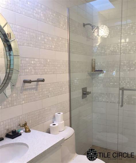bathroom shower tile installation a stunning and unique bathroom tile installation using