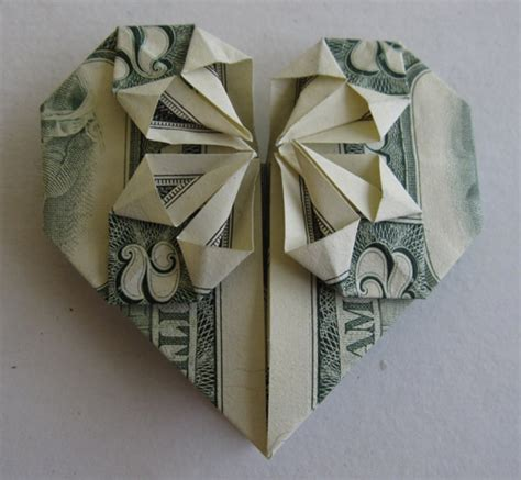 origami using money stunning origami made using only money i like to waste