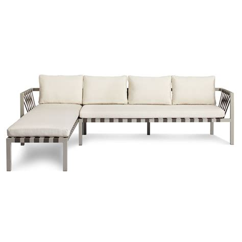 outdoor sofa sectional jibe outdoor left sectional sofa outdoor sectionals
