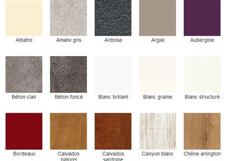dressing coloris exemples