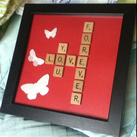 crafts for boyfriend made this for by boyfriends birthday craft ideas