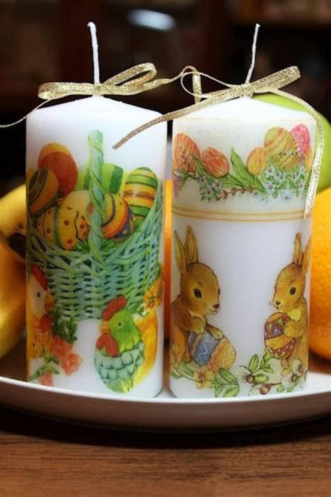 how to decoupage a candle decoupage candle 50 photos master classes with ideas of