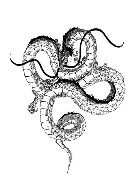 shenron dragon by marie escames dragons pinterest dragon