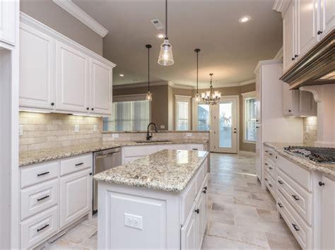 white kitchens with floors spacious white kitchen with light travertine backsplash