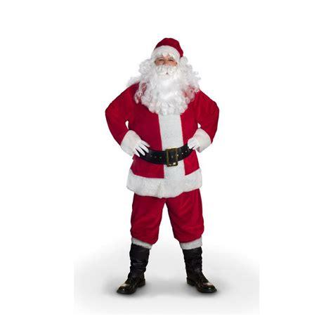 large santa shop large polyester santa claus suit at lowes