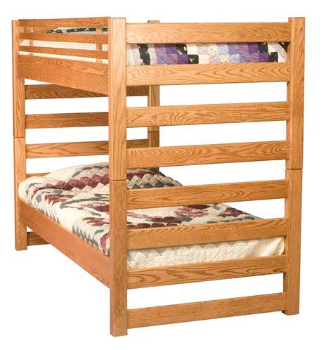 amish bunk beds amish ladder bunk bed