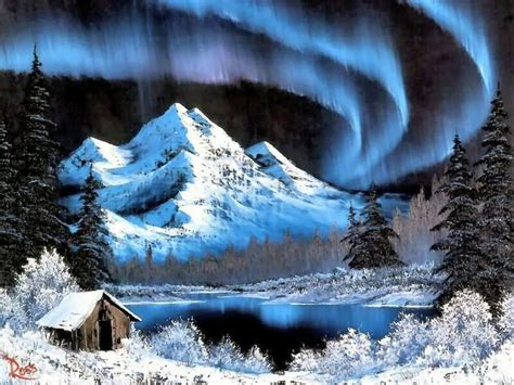 bob ross painting sky 177 best winter sky images on