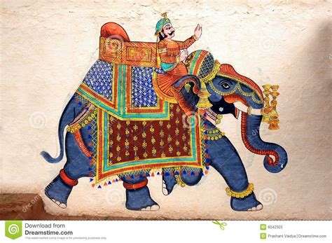 Ancient Egyptian Wall Murals traditional folk motifs of elephants google search