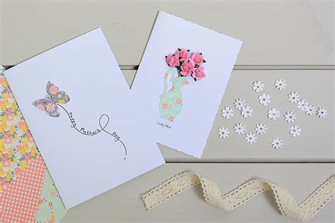 how to make s day cards how to make a roses jug s day card hobbycraft