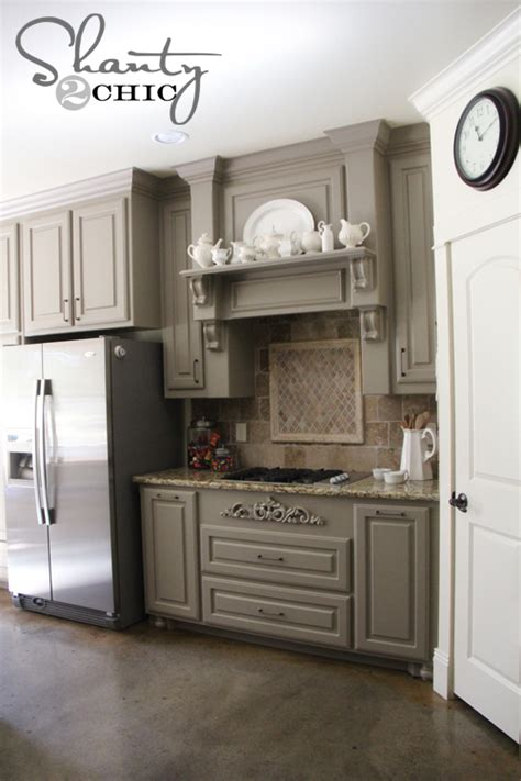 grey paint colors for kitchen cabinets choosing my battles and a paint color shanty 2 chic