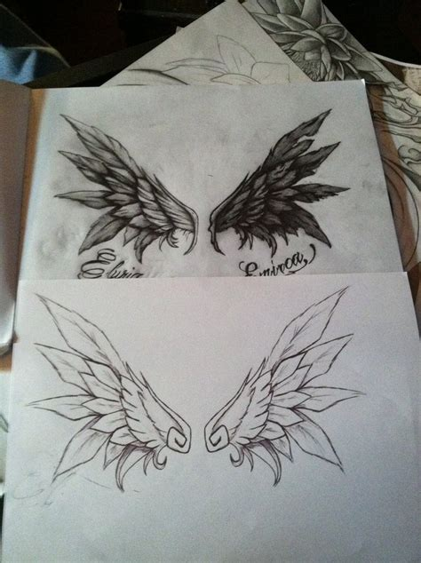 commision of wings good and evil by gkarts661 on deviantart